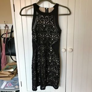 LF Black Lace Dress